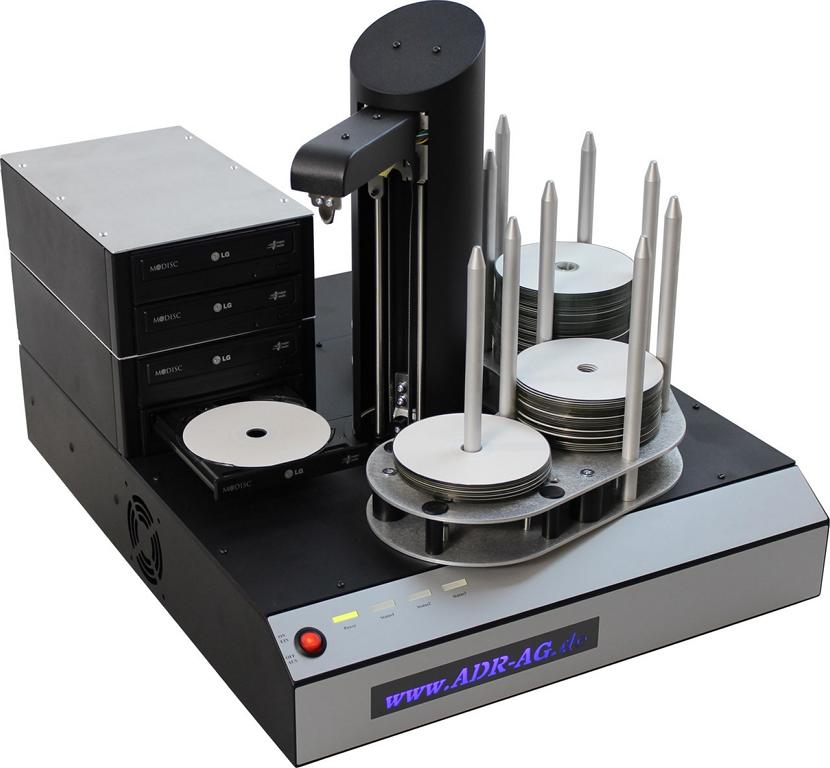 Hurricane 4 CD / DVD Duplizierer